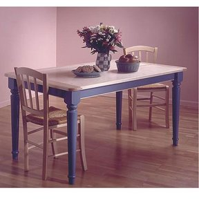 Woodworking Project Paper Plan to Build Country-Style Table