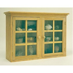 Woodworking Project Paper Plan to Build Display Cabinet, Plan No. 865