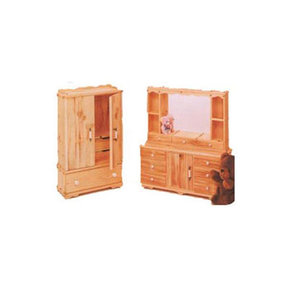Woodworking Project Paper Plan to Build Doll Armoire and Dresser