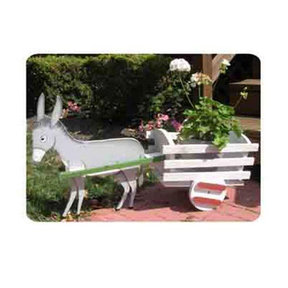 Woodworking Project Paper Plan to Build Donkey Cart Planter