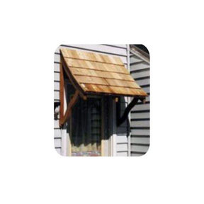 Woodworking Project Paper Plan to Build Door/Window Awning