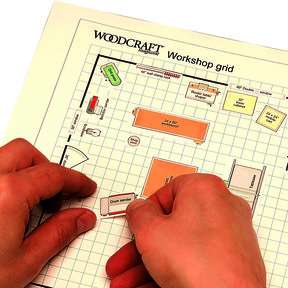 Woodworking Project Paper Plan to Build Dream Shop Planner