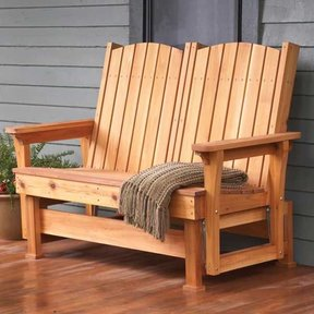 Woodworking Project Paper Plan to Build Easy, Breezy Glider