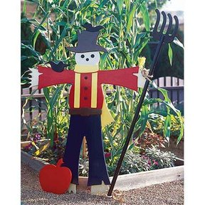 Woodworking Project Paper Plan to Build Easy Going Scarecrow