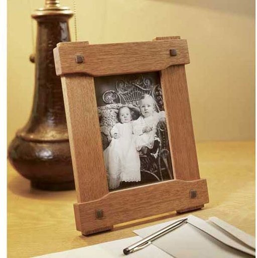 View a Larger Image of Woodworking Project Paper Plan to Build Era-Inspired Picture Frame