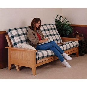 Woodworking Project Paper Plan to Build Fantastic Futon Bed