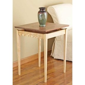 Woodworking Project Paper Plan to Build Floating-top Table