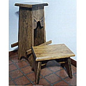 Woodworking Project Paper Plan to Build Footstool and Bar Stool