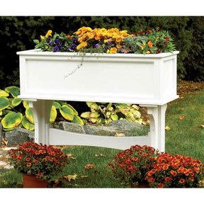 Woodworking Project Paper Plan to Build Freestanding Planter Box