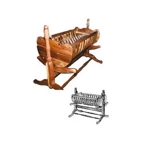 Woodworking Project Paper Plan to Build French Colonial Baby Cradle