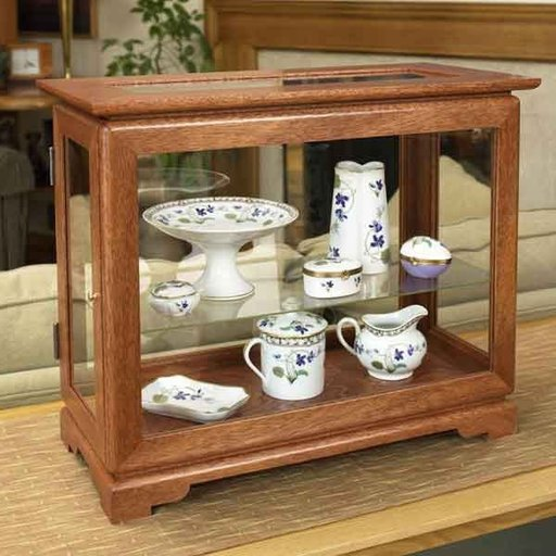 View a Larger Image of Woodworking Project Paper Plan to Build Full-View Display Case