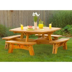 Woodworking Project Paper Plan to Build Fun-in-the-Sun Picnic Table
