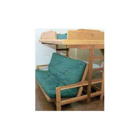 Woodworking Project Paper Plan to Build Futon Bunk Bed