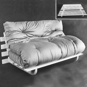 Woodworking Project Paper Plan to Build Futon Frame, Plan No. 809