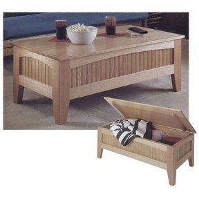 Woodworking Project Paper Plan to Build Futon Table