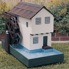 Woodworking Project Paper Plan to Build Grist Mill, Plan No. 456