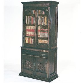 Woodworking Project Paper Plan to Build Gun Cabinet/Bookcase, Plan No. 672