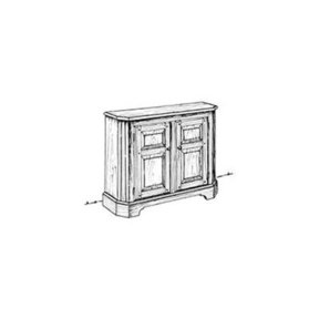Woodworking Project Paper Plan to Build Hall Cabinet