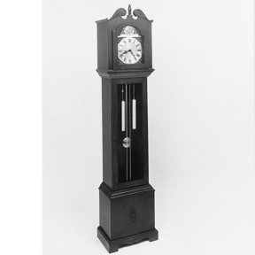 Woodworking Project Paper Plan to Build Hall Clock , Plan No. 464