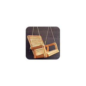 Woodworking Project Paper Plan to Build Hanging Chair