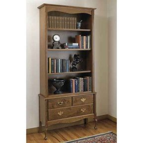 Woodworking Project Paper Plan to Build Heirloom Bookcase
