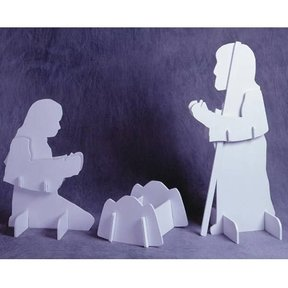Woodworking Project Paper Plan to Build Holy Family, Plan No. 924