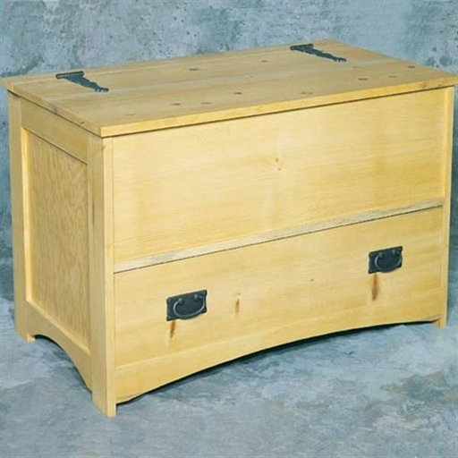 View a Larger Image of Woodworking Project Paper Plan to Build Hope Chest