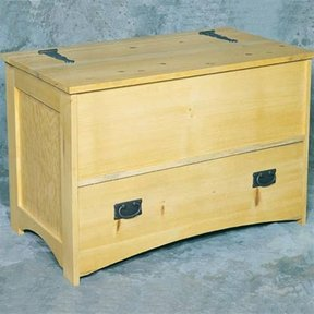 Woodworking Project Paper Plan to Build Hope Chest