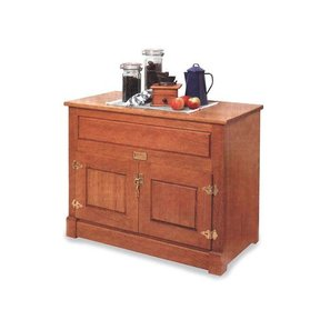 Woodworking Project Paper Plan to Build Ice Chest