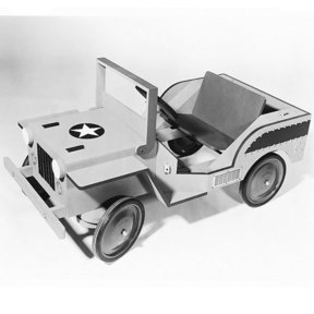 Woodworking Project Paper Plan to Build Jeep, Plan No. 410