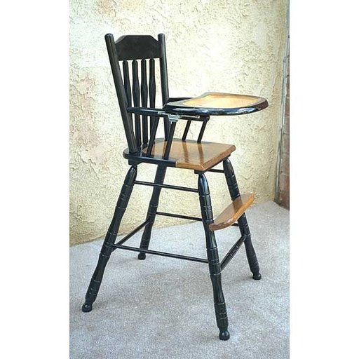 View a Larger Image of Woodworking Project Paper Plan to Build Kaliah's Highchair, AFD229