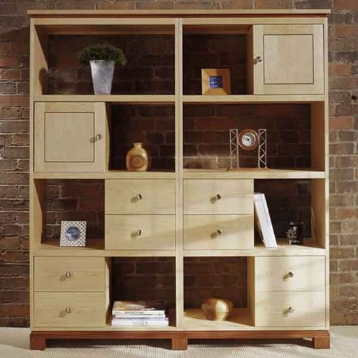 View a Larger Image of Woodworking Project Paper Plan to Build Knockdown Modular Cabinets