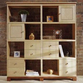 Woodworking Project Paper Plan to Build Knockdown Modular Cabinets