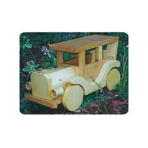 Woodworking Project Paper Plan to Build Large Antique Car