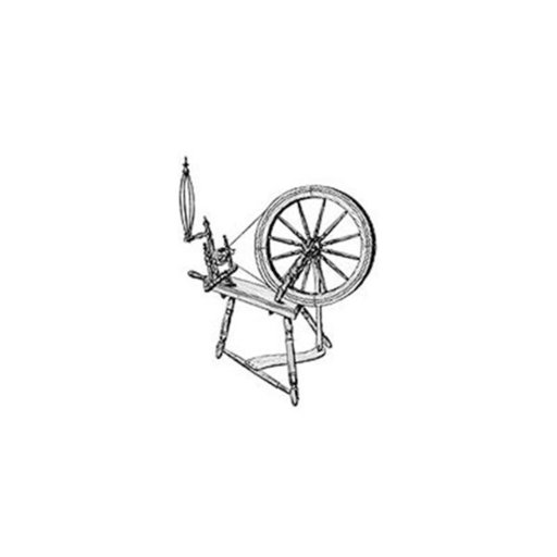 View a Larger Image of Woodworking Project Paper Plan to Build Large Spinning Wheel