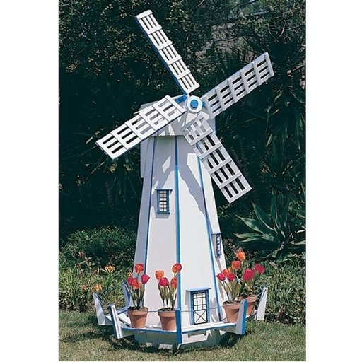View a Larger Image of Woodworking Project Paper Plan to Build Large Windmill, Plan No. 739