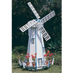 Woodworking Project Paper Plan to Build Large Windmill, Plan No. 739