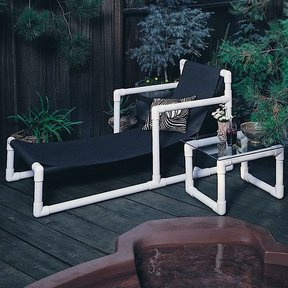Woodworking Project Paper Plan to Build Lawn Furniture, Plan No. 649