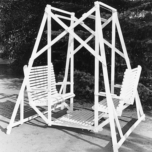 View a Larger Image of Woodworking Project Paper Plan to Build Lawn Glider Swing, Plan No. 276