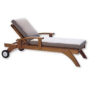 Woodworking Project Paper Plan to Build Lazy-Days Chaise Chair
