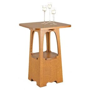 Woodworking Project Paper Plan to Build Limbert-style Arts & Crafts Table