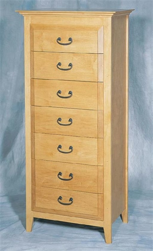 View a Larger Image of Woodworking Project Paper Plan to Build Lingerie Chest, Plan No. 874