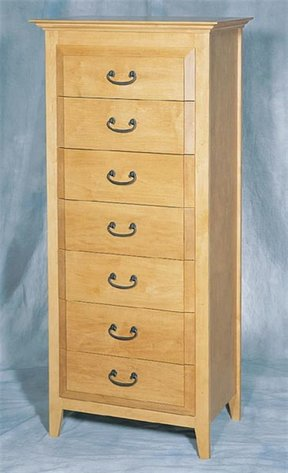 Woodworking Project Paper Plan to Build Lingerie Chest, Plan No. 874