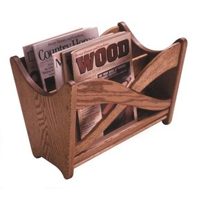 Woodworking Project Paper Plan to Build Magazine Rack