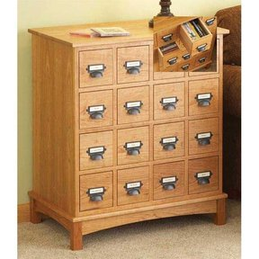 Woodworking Project Paper Plan to Build Media Cabinet