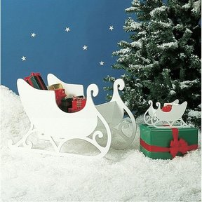 Woodworking Project Paper Plan to Build Medium & Small Sleigh