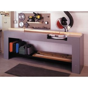 Woodworking Project Paper Plan to Build Mitersaw Stand