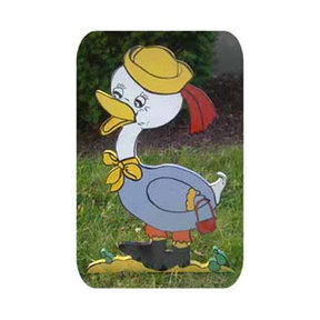 Woodworking Project Paper Plan to Build Mrs. Duck on a Walk