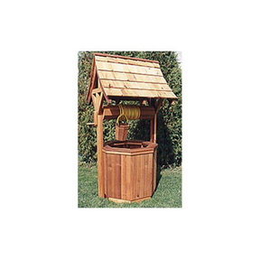 Woodworking Project Paper Plan to Build Mystic Wishing Well