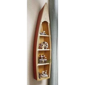 Woodworking Project Paper Plan to Build Nautical Shelf